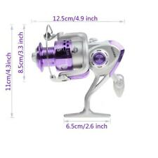 High Strengty Metal Fishing Spinning Reel with Handle Bearings 8BB