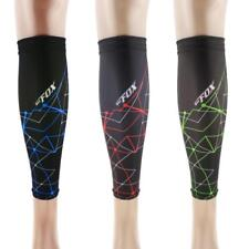 1 Pair of Breathable Football Basketball Leg Sleeves Calf Kneepad Guard Support