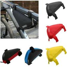 HOT NEW ! Bicycle Bike Cycling Triangle Frame Front Tube Bag Storage Pouch
