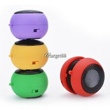 Mini Hamburger Speaker Music MP3 Player Hifi Stereo Amplifier Loudspeaker UTAR