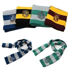 New Harry Potter Scarf Gryffindor/Slytherin/Hufflepuff/Ravenclaw Gift Cosplay