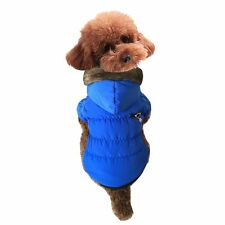 Pets Dog Puppy Soft Fur Hooded Coat Winter Thick Warm Jacket Apparel Clothes