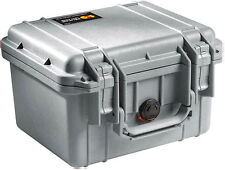 Pelican 1300NF Case without Foam (Silver)