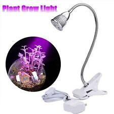 5W 5LED Flexible Grow Light Hydroponic Spectrum Plant Veg Flower Veg Lamp Bulb