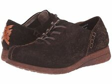 BRAND NEW BORN MACIAS SUEDE LEATHER OXFORD LIGHTWEIGHT SHOES BROWN SZS 6-7.5-8