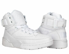 Ewing Athletics Ewing 33 Hi Croc White Men's Basketball Shoes 1EW90171-100
