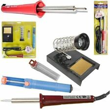 ELECTRIC SOLDERING IRON KIT 30W 60W SOLDER GUN KIT DESOLDER LEAD WIRE PUMP STAND