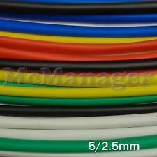 5mm 5./2.5mm Heat Shrinking Tubes Various Legnth Colour Wire Insulation Sleeve
