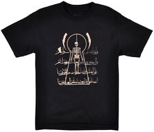 Black Scale Tee Shirt Flying Coffin Short Sleeve BLVCK SCVLE Top Kahki Mens S-XL