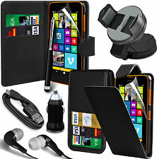 8 in 1 Bundle Kit Accessory Case Car Holder Charger For Nokia Lumia 630