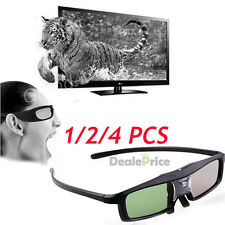 Universal Rechargeable Active Shutter 3D Glasses for DLP Link 3D Ready Projector