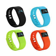 Bluetooth Smart Calorie Counter Sport Watch Bracelet Step Tracker Pedometer TW64