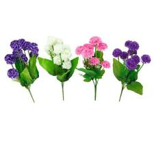 Artificial Simulation Hydrangea Flower Plant w/ 9 Flower Balls Wedding Decor