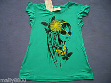"Funky Babe - Girls - Top - Tshirt - ""GIRL"" - Size 3, 4, 5, 6, 7"