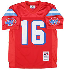 Headgear Shane Falco The Replacements Football Jersey Sports Comedy Red Mesh Men