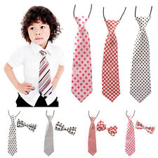 Novelty Satin Men Boy Kids Toddler Bowtie Pre-Tied Wedding Party Bow Tie Necktie