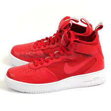 Nike Air Force 1 Ultraforce Mid Classic Lifestyle Shoes Gym Red/White 864014-600