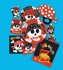 Pirate Party Supplies Pirate Birthday plates cups hats napkins etc