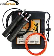 Jump Rope PRO speed Bearing comfort Handles boxing skipping Fitness Exercise Gym