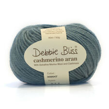 Debbie Bliss Cashmerino Aran Hand Knitting Yarn - 50g Various Shades