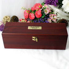Personalised 30th Birthday Rosewood Wine Box Gift - Add a Name & Message