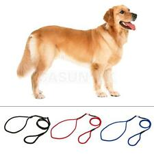 1x Pet Dog Nylon Rope Training Leash Slip Lead Strap Adjustable Collar 3 Colors