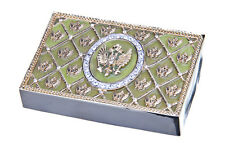 Decorative Enamel Russian Coat of Arms Business Credit ID Card Case / Holder