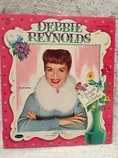Vintage 1957 Debbie Reynolds Cut Out Paper Dolls Book Whitman Nice Condition