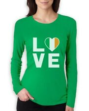 I Love Ireland - Irish Pride Flag of Ireland Gift Idea Women Long Sleeve T-Shirt