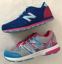New Balance Lace-Up Girls' Athletic New Shoes - Choice Size & Color