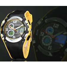 OHSEN Watches Digital Date Day Alarm LED Backlight Outdoor Sport Mens Watch