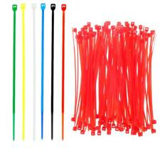 100pcs 4 inch/6 inch Self-Locking Faster Zip Ties Reusable Nylon Cable Ties