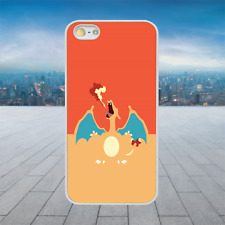 COOL CHARIZARD POKEMON White Hard Phone Case Cover Fits Iphone Models