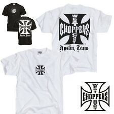 West Coast Choppers men's T-Shirt Iron Cross ATX - new collection
