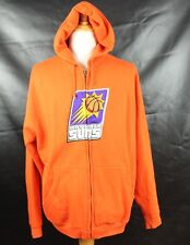 EUC PHONEIX SUNS ORANGE PULLOVER HOODED HOODIE SWEATER SIZE XL MENS
