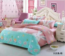Rabbit 100% Cotton Bed Duvet Cover Quilt Cover Set / Sheet Set/Fitted/Flat