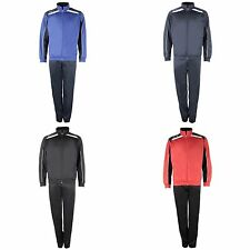 Lotto Mens Football Sports Track Suit Assist PL Cuff Tracksuit M-2XL