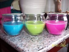 NEW Star Lytes Citronella Candles - small & large (Sets of 2 or 3 as pictured)