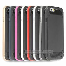 Tough Armor Bumper Hard Back Protective Case Cover  For iPhone 5 5S SE 6 6 Plus
