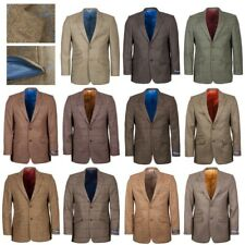 Mens Tweed Blazer Jacket British Wool Fine Lining Rydale Country Style