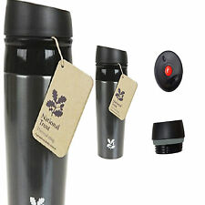 NATIONAL TRUST LEAKPROOF 450ml THERMAL INSULATED TRAVEL COFFEE MUG FLASK CUP