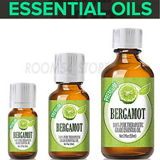 Bergamot 100% Pure Essential Oils For Diffuser 10 ,30 ,60ml Aroma Free Shipping