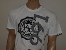 Armani Exchange Authentic Crest Logo T-Shirt White NWT