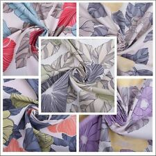 Floral Print Hampton Court Curtain Fabric Medium Weight For Upholstery