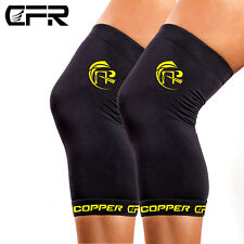 Copper Compression Knee Sleeve Copper Infused Knee Support Fit Recovery Brace AP