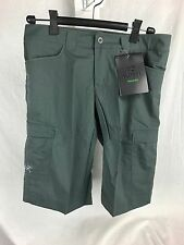 NEW ARCTERYX RAMPART LONG SHORTS NAUTIC GREY 30 34 LIGHT BREATHABLE STRETCH MENS