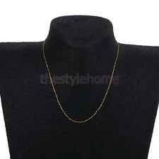 925 Sterling Silver Necklace Women Ladies Long Chain Link Party Christmas Gift