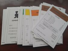 INDIVIDUAL COVENTRY EDITION MONOPOLY PROPERTY CARDS 2004 EDITION .