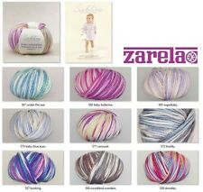 SUBLIME BABY CASHMERE MERINO SILK DK PRINTS 50g ALL COLOURS