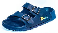Birki's Sandals by Birkenstock for Kids Boys Strap Haiti Basic Navy Narrow